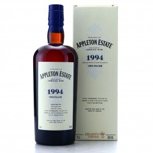 Appleton Estate 1994 26 Year Old / Hearts Collection
