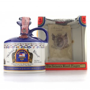 Pusser's Nelson's Blood Decanter 1980s