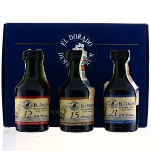El Dorado Gift Set Miniatures x 3