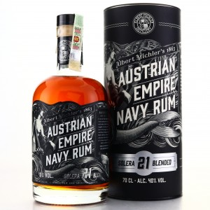 Austrian Empire Solera 21 Navy Rum 