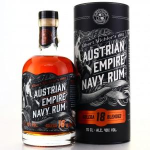 Albert Michler's Austrian Empire Navy Rum Solera 18 Year Old