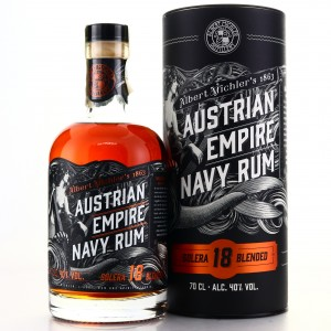 Albert Michler's Austrian Empire Navy Rum Solera 18 Year Old