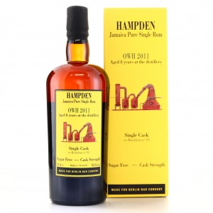Hampden OWH 2011 Habitation Velier 8 Year Old Single Cask / Berlin Bar Convent