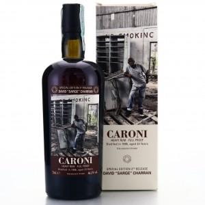Caroni 1996 Velier 23 Year Old Full Proof Heavy / David 'Sarge'Charran