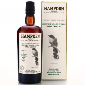 Hampden OWH 2012 Single Cask 8 Year Old #667 / Trelawny Endemic Birds