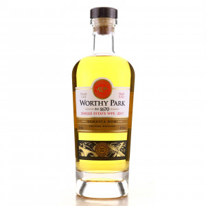 Worthy Park WPE 2017 Single Cask 2 Year Old / LMDW