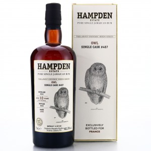 Hampden LROK 2010 Single Cask 10 Year Old #487 / Trelawny Endemic Birds