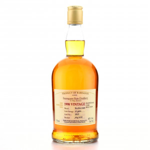 Foursquare 1998 Bourbon Cask 10 Year Old