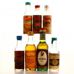 Rum Miniatures x 7