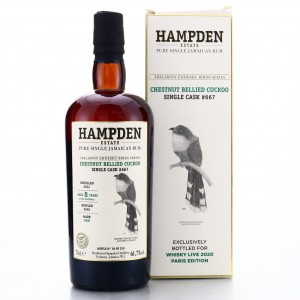 Hampden OWH 2012 Single Cask 8 Year Old #667 / Trelawny Endemic Birds