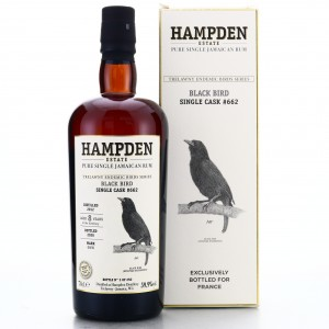 Hampden OWH 2012 Single Cask 8 Year Old  #662 / Trelawny Endemic Birds