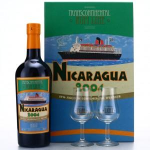 Nicaragua Rum 2004 Transcontinental Rum Line Gift Pack