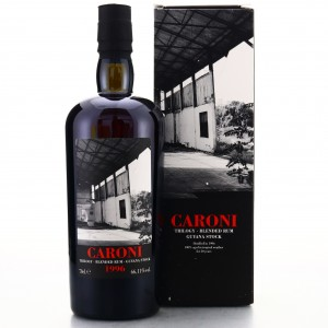Caroni 1996 Velier 20 Year Old Guyana Stock Cask #5541 / LMDW Trilogy