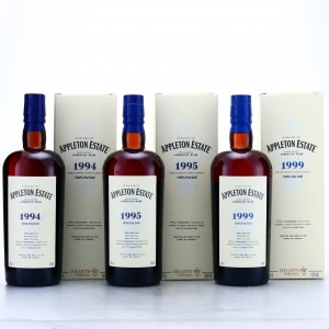 Appleton Estate 1994 Velier Hearts Collection 3 x 70cl