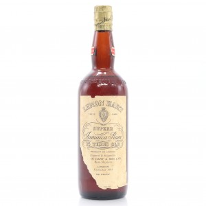 Lemon Hart 15 Year Old Jamaica Rum circa 1950s / US Import