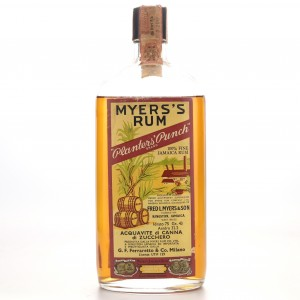 Myers's Rum 1960s / Ferraretto Import