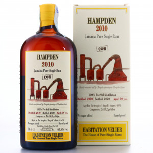 Hampden C<>H 2010 Habitation Velier 10 Year Old
