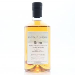 West India Rum Refinery 2000 Whisky Broker 17 Year Old