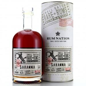 Savanna 2007 Rum Nation Small Batch Sherry Finish