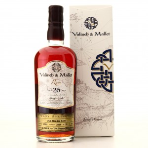 Blended Rum 1993 Valinch and Mallet 26 Year Old
