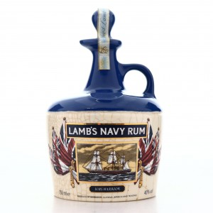 Lamb's Navy Rum Decanter 75cl / Victorian Ships Collection