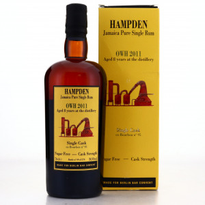 Hampden OWH 2011 Habitation Velier 8 Year Old Single Cask #95 / Berlin Bar Convent