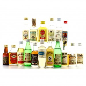 Rum & Liqueur Miniatures x 17