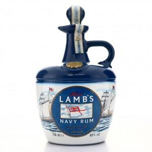 Lamb's Navy Rum Decanter 75cl