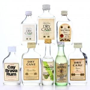 White Rum Miniatures x 8