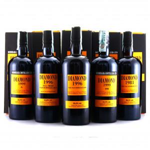 Diamond Velier Bottlings 5 x 70cl