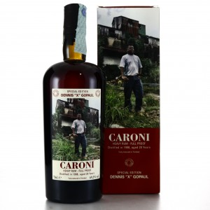 Caroni 1998 Velier 20 Year Old Full Proof Heavy / Dennis 'X' Gopaul