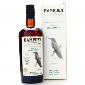 Hampden LROK 2010 Single Cask 10 Year Old #92 / Trelawny Endemic Birds