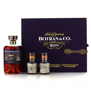 Botran Gran Reserva Especial 50cl / with 2 x Miniatures 75th Anniversary Pack