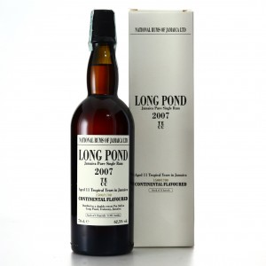 Long Pond TECC 2007 Continental Flavoured 11 Year Old