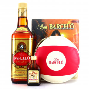 Barceló Gran Anejo with Miniature, CD Case, Coasters and Mouse Mat