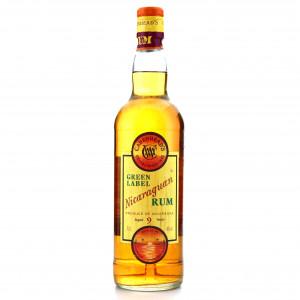Nicaraguan Rum 9 Year Old Cadenhead's Green Label