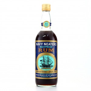 Navy Neaters 95.5 Proof 1970s