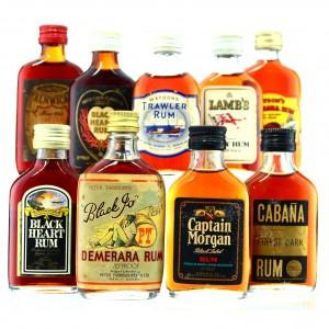 Blended Rum Miniature x 9