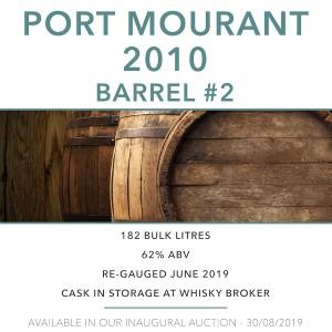 1 Port Mourant MPM 2010 Barrel #2 / Cask in storage at Whiskybroker