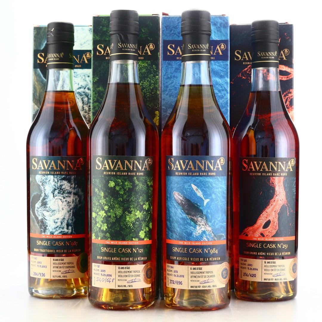 Savanna Wild Island Edition 4 x 50cl