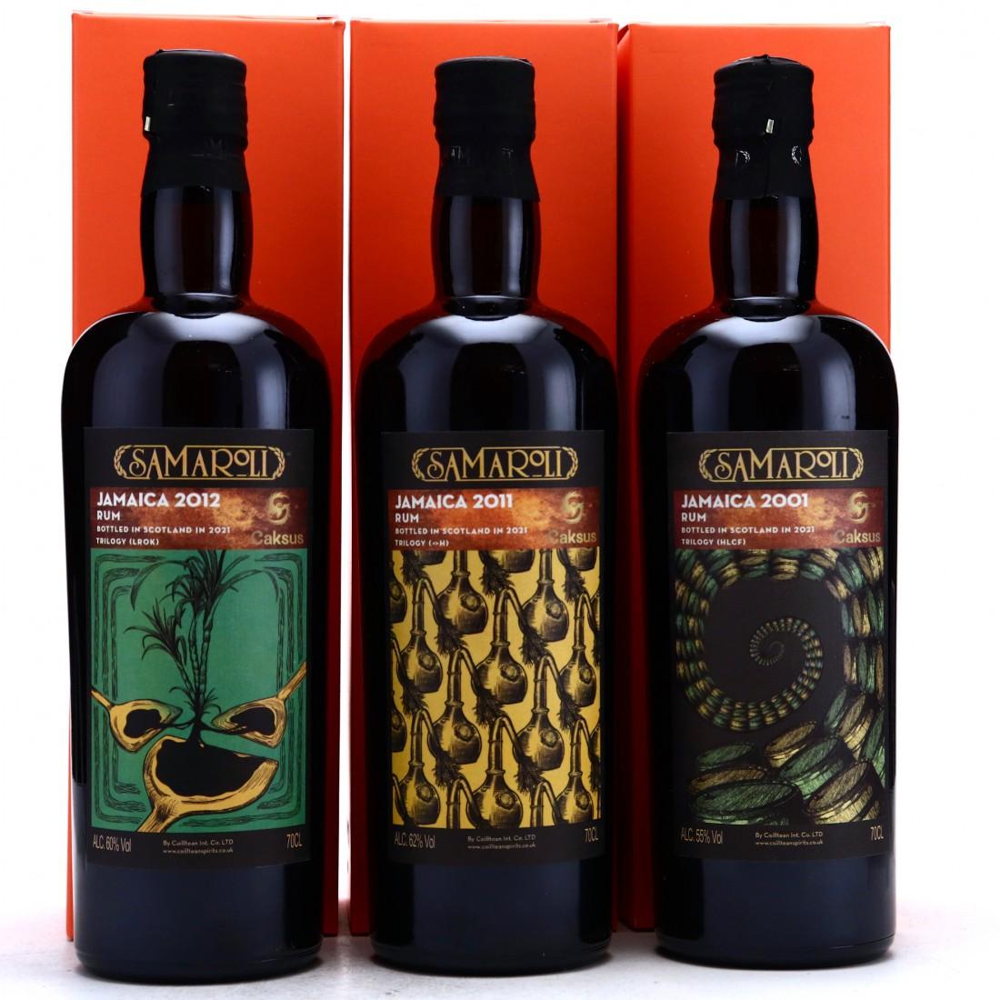 Hampden Samaroli Trilogy for Caksus 3 x 70cl
