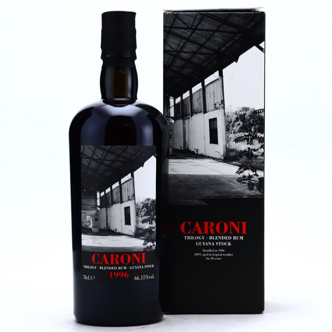 Caroni 1996 Velier 20 Year Old Guyana Stock Cask #5541 / LMDW Trilogy