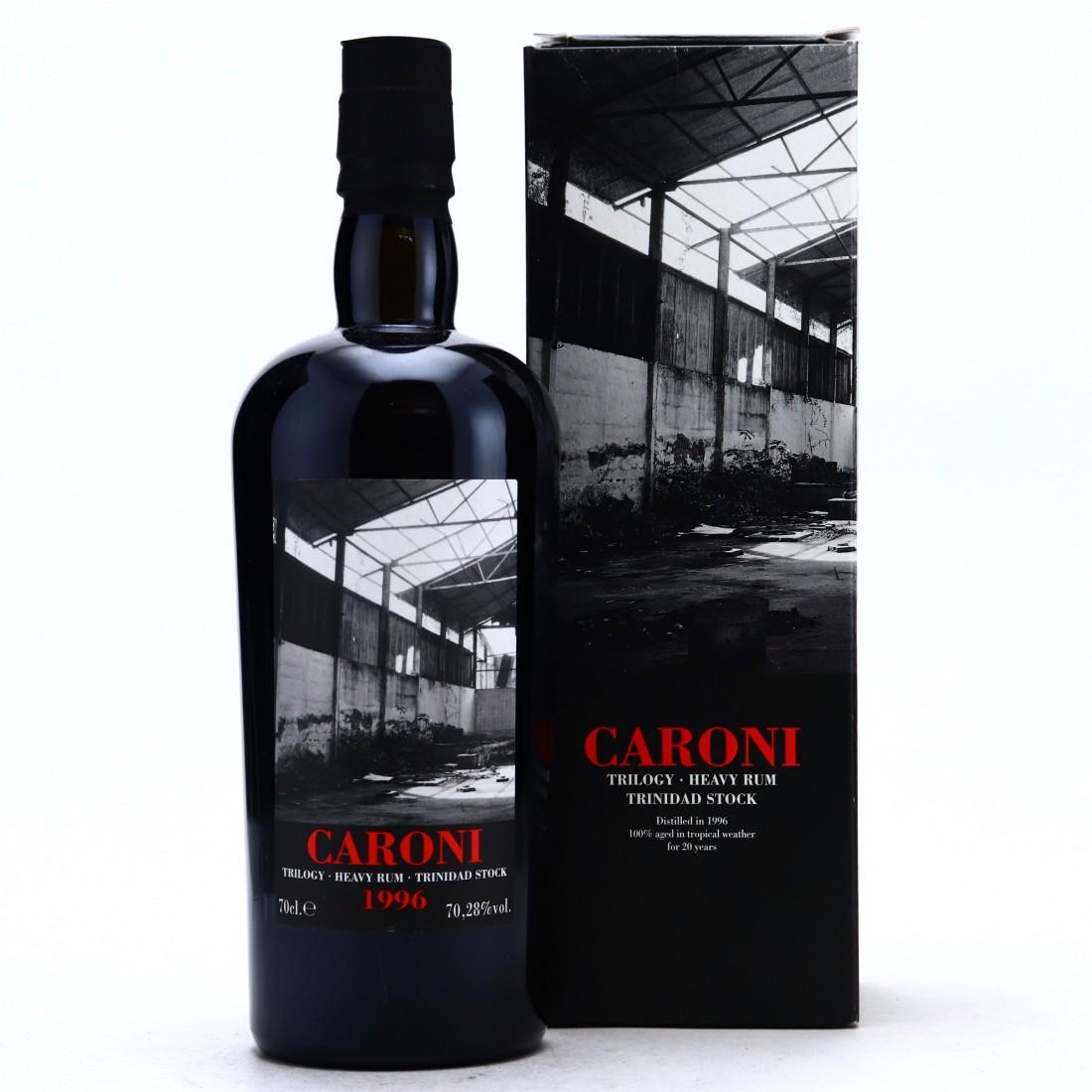 Caroni 1996 Velier 20 Year Old Trinidad Stock Single Cask #R3711 / LMDW Trilogy