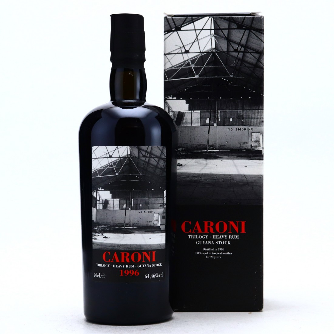 Caroni 1996 Velier 20 Year Old Guyana Stock Single Cask #5602 / LMDW Trilogy