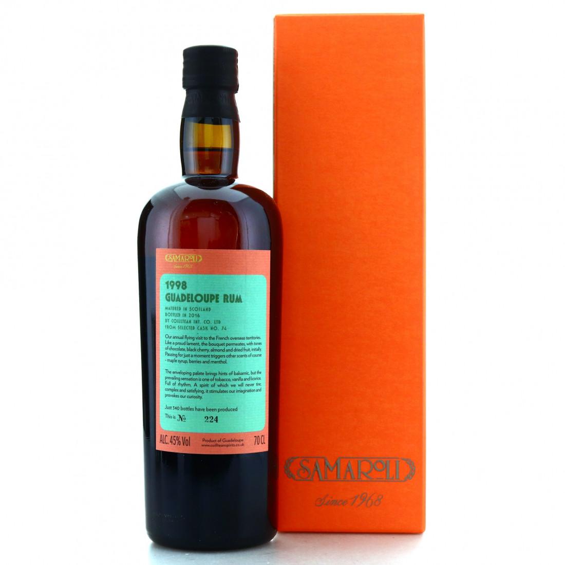 Guadeloupe Rum 1998 Samaroli Single Cask #74