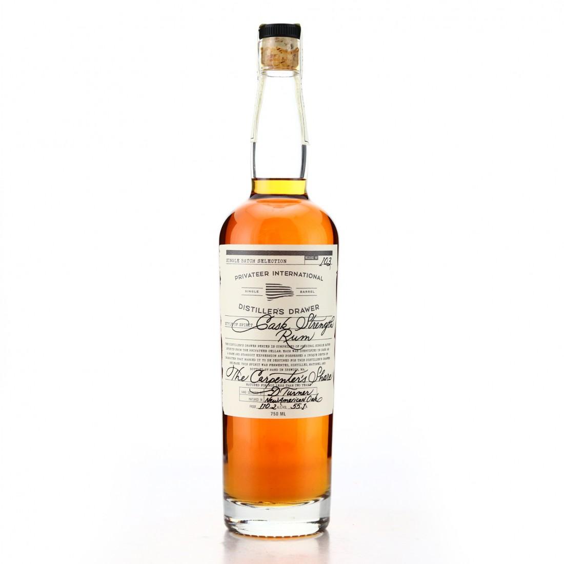 Privateer Distiller's Drawer #103 Cask Strength The Carpenter's Share