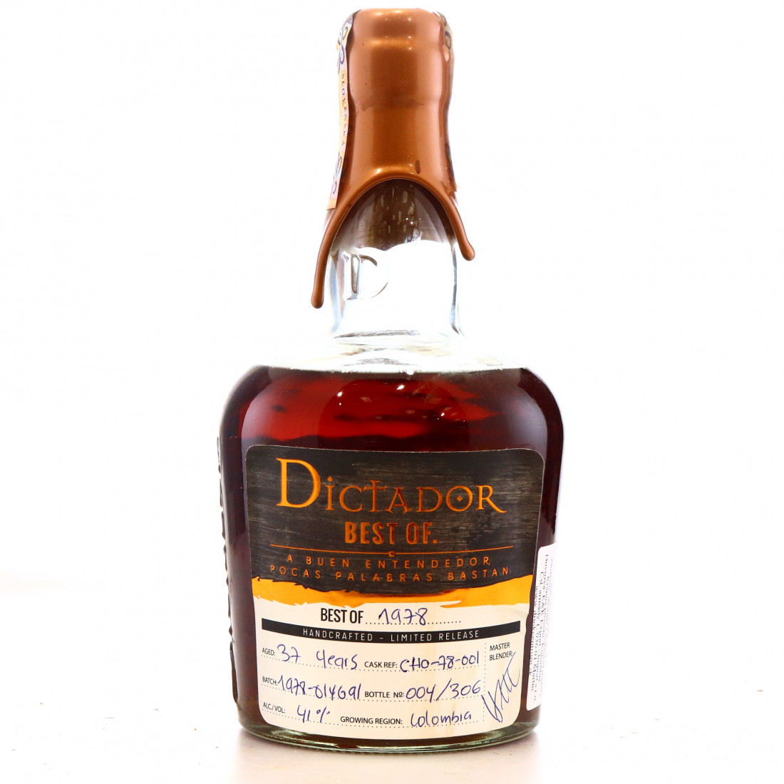 Dictador Best of 1978 37 Year Old