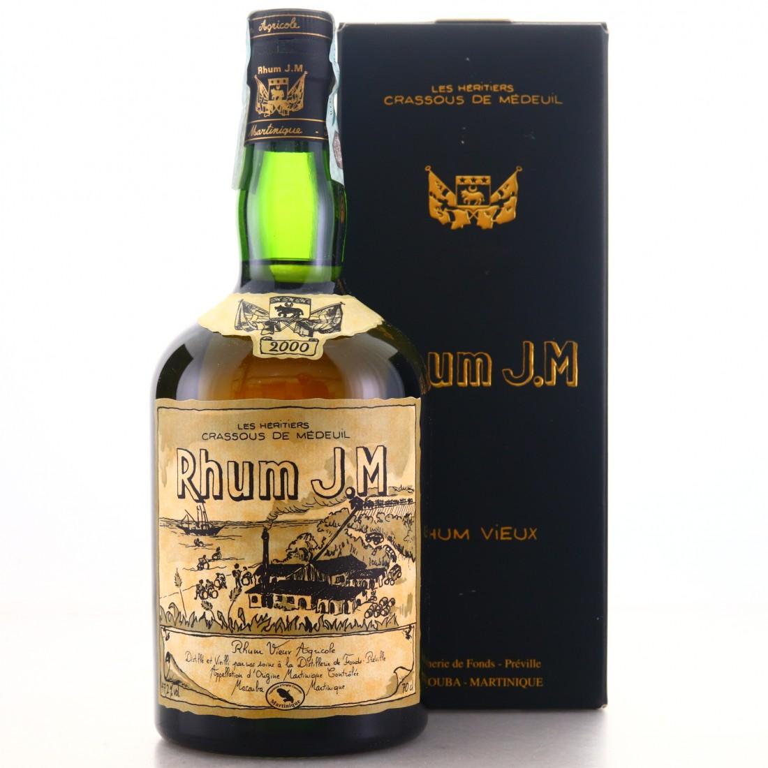 Rhum J.M 2000 Rhum Vieux 10 Year Old