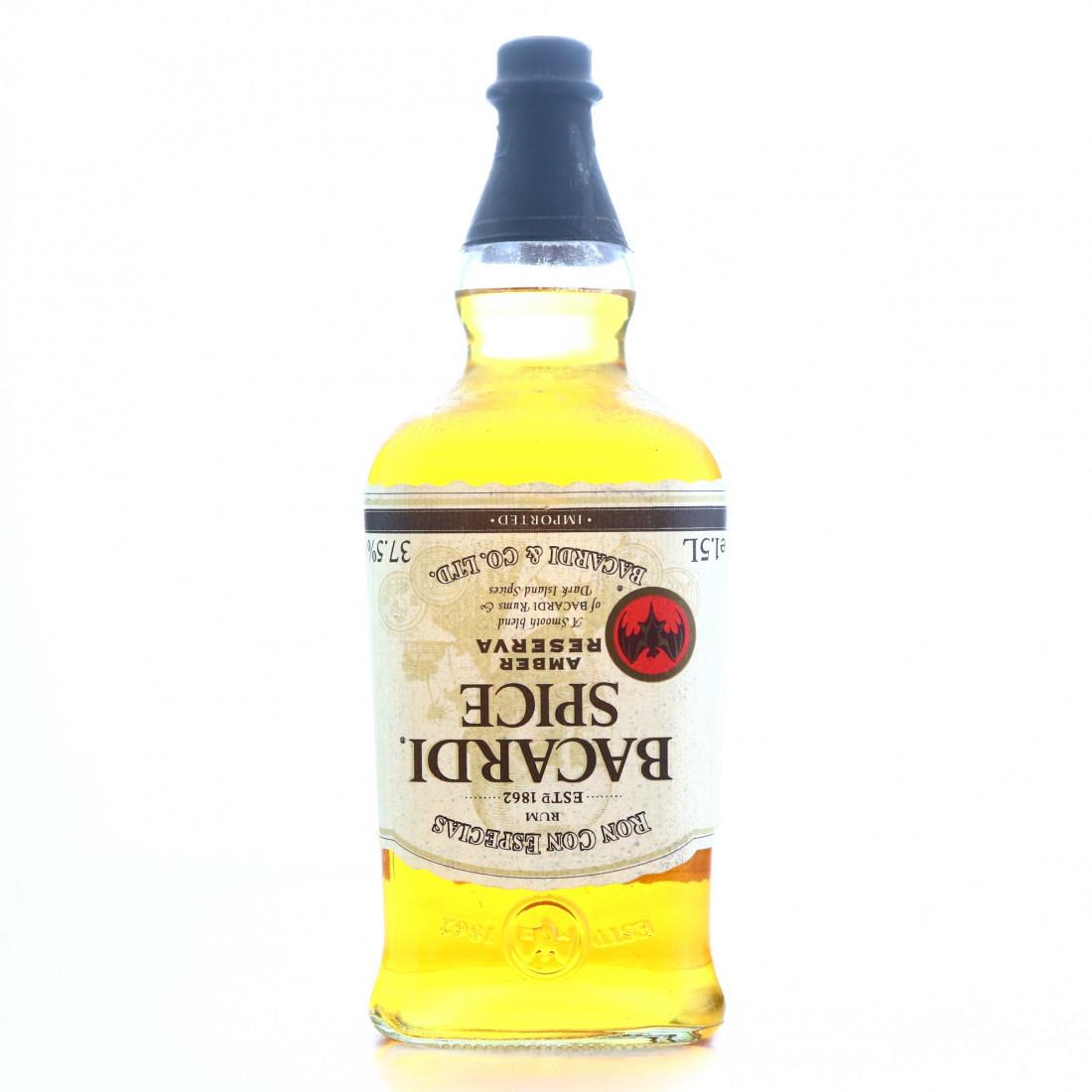 Bacardi Spice Amber Reserva 1.5 Litre