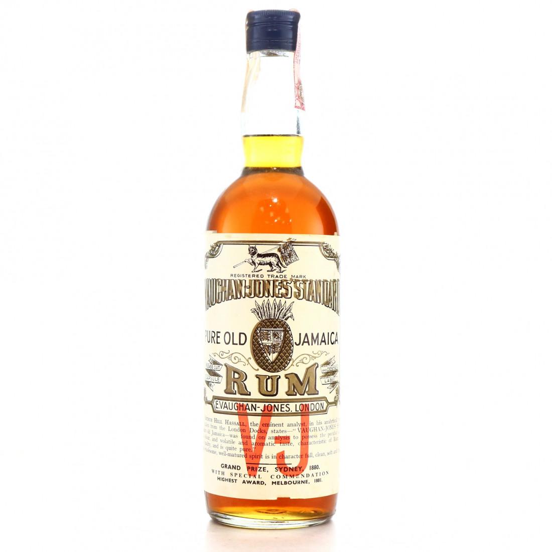 Vaughan Jones' Standard Pure Old Jamaica Rum 1960s